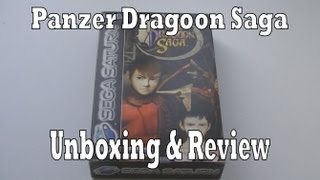 Panzer Dragoon Saga Unboxing & Review (Sega Saturn)
