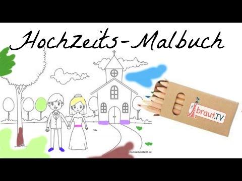 Hochzeitsmalbuch   Ideen & Gastgeschenke für Kinder   braut.TV