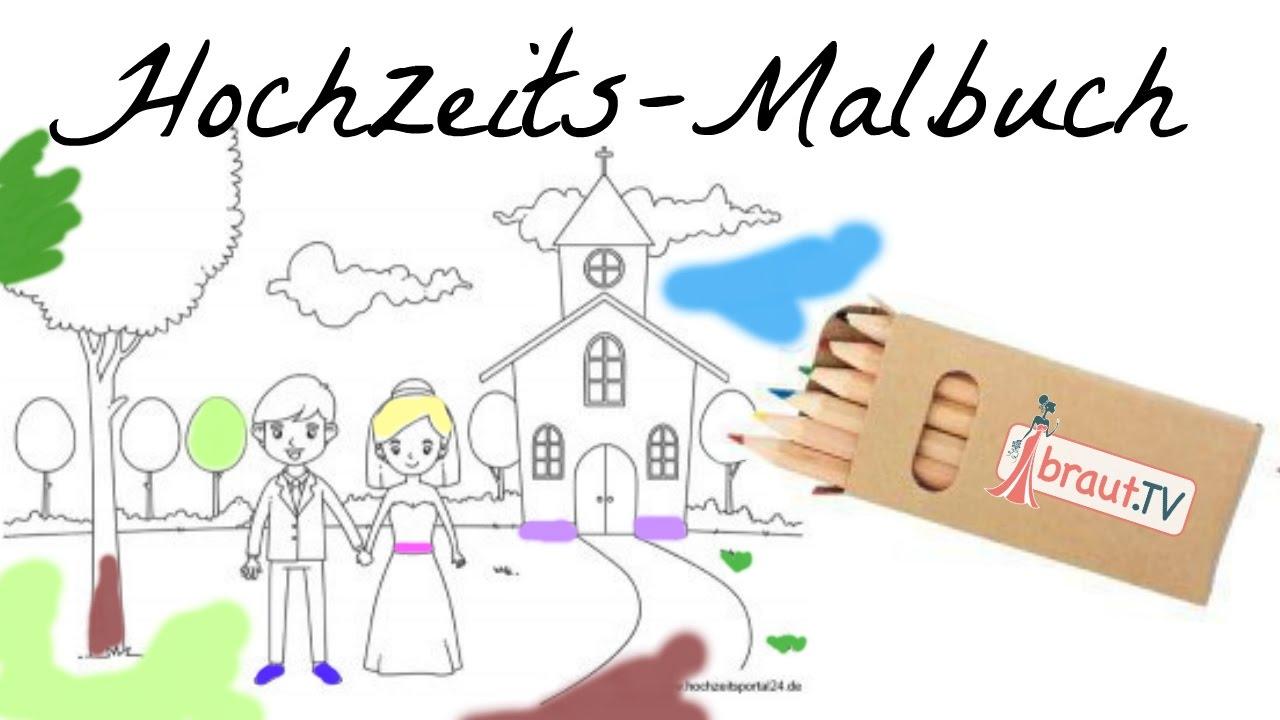 Ausmalbilder Hochzeit Hochzeitsmalbuch Als Pdf Kostenlos