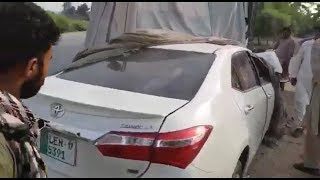 Toyota Corolla 2019 latest video Accident with Bus