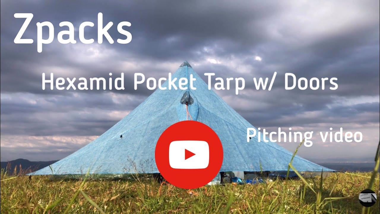 Pocket Tarp With Doors
