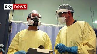 Coronavirus: Second wave is putting stress on UK hospitals