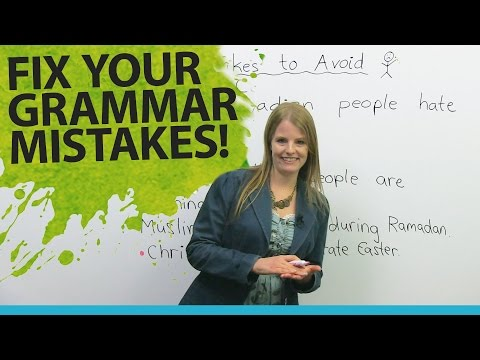Fix Your English Grammar Mistakes Talking About People