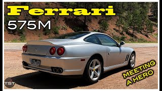 homepage tile video photo for The 2003 Ferrari 575M is Imperfect Grand Touring Royalty