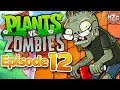 Plants vs. Zombies Gameplay Walkthrough - Episode 12 - Pogo Zombies! Mini Game Finale!