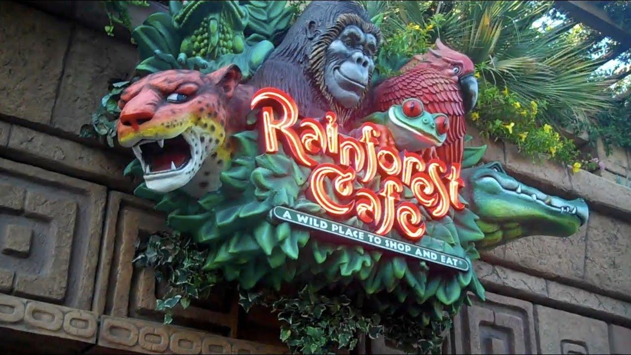 California Disney Rainforest Cafe