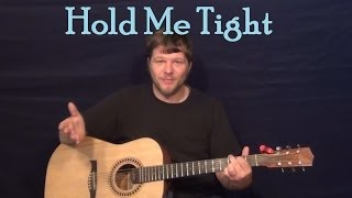 Hold Me Tight (The Beatles) Easy Guitar Lesson How to Play Tutorial