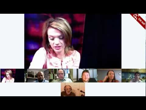 "G+ and Newscasters: How On-Air Hangouts are transforming ""broadcasting"""