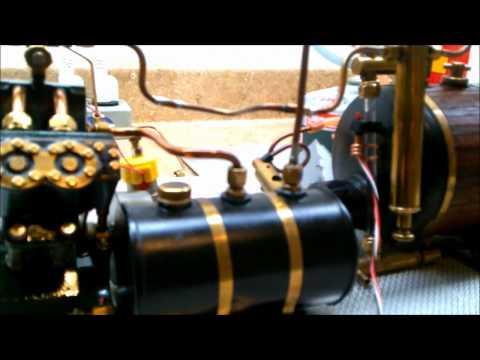 Maxwell Hemmens Caton V4 Marine model steam engine