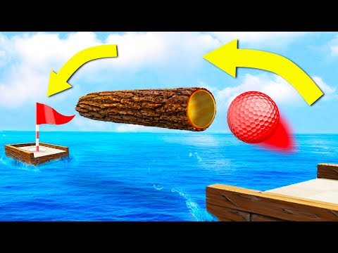 99.99% IMPOSSIBLE HOLE IN ONE!? (Golf It)