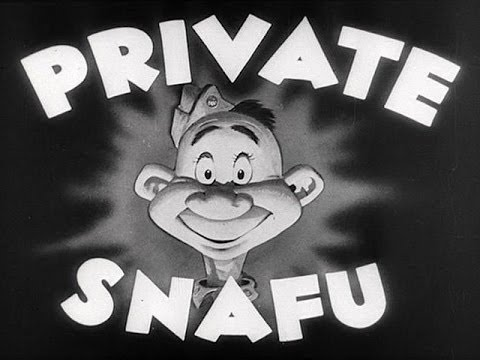 WWII PRIVATE SNAFU Cartoons