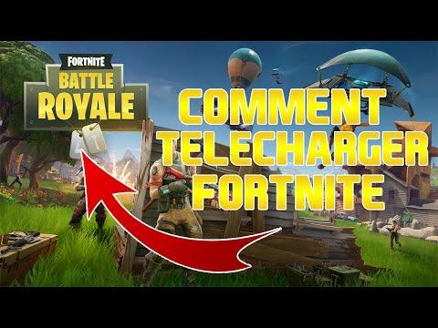 FRTUTO COMMENT TELECHARGER FORTNITE BATLLE ROYALE PCMAC