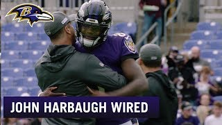 Wired: John Harbaugh Mic'd Up For Week 6 Win Over Bengals | Baltimore Ravens