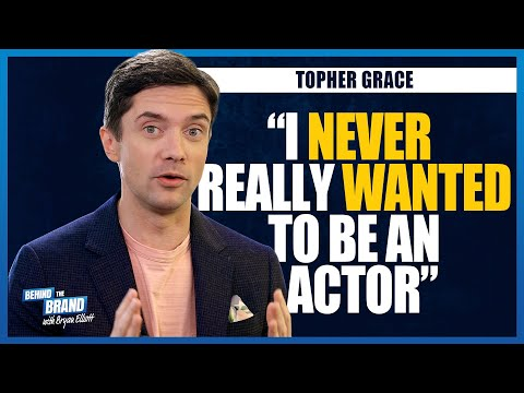 Topher Grace [EXCLUSIVE] Behind the Brand