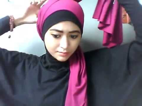 Tutorial Hijab Pashmina Persegi Panjang Semi Turban By Natasha Farani ...