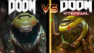 Doom Eternal Vs Doom Graphics Comparison   Quakecon 2018   Xbox One / Ps4 / Pc / Switch