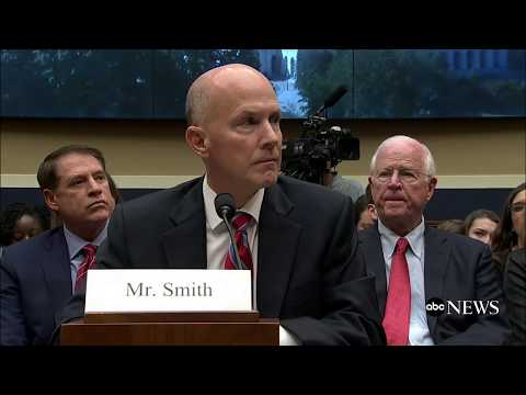 Equifax ex-CEO testifies about data breach on Capitol Hill