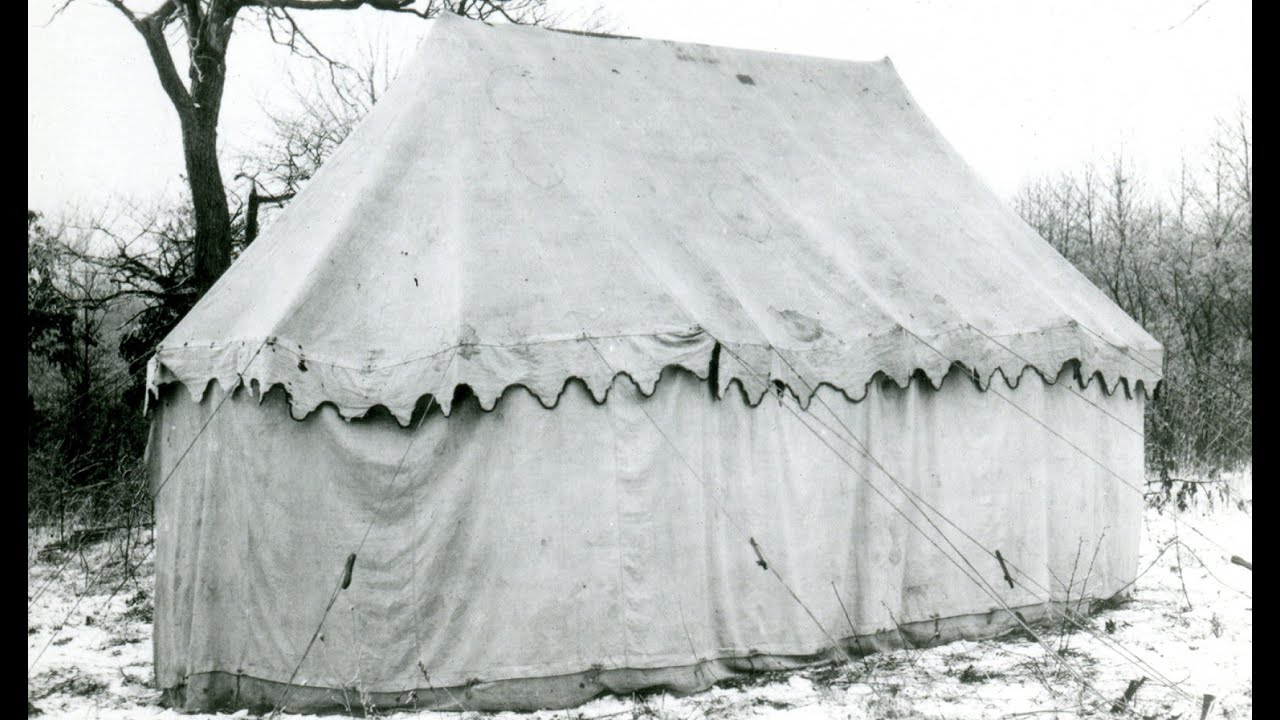 American Artifacts Preview George Washington S Camp Tent