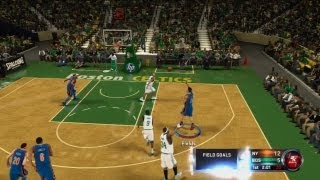 NBA 2K12 Quick Ranked - Why is He Jumping?