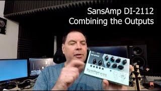 SansAmp DI-2112 - Combining outputs