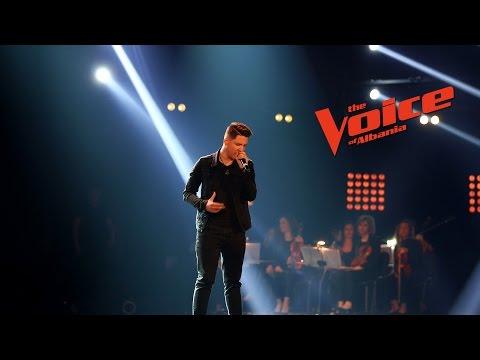 Klinti Çollaku – Me and my broken heart – Netët Live – The Voice of Albania 6