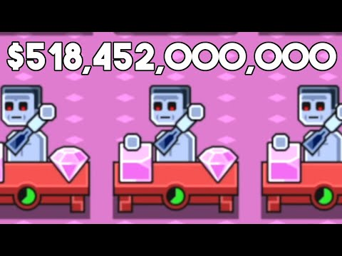 I upgraded until I made $518,452,000,000 per hour by illegally selling diamonds in Make More