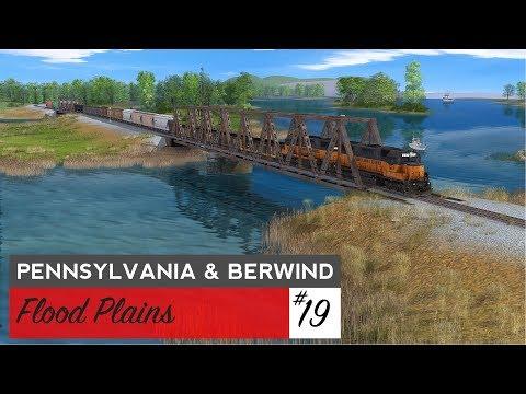 Trainz: Pennsylvania & Berwind Episode 19: Flood Plains