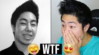 Artist Gets Drawn By Artists! - ART REVIEW👏👏 Video