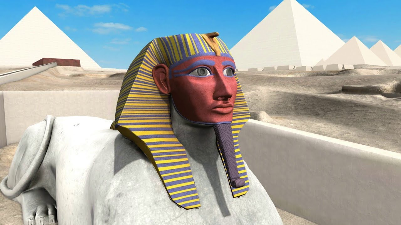 Giza 3D 2013 release - (Available now in 13 languages with 6 new monuments)