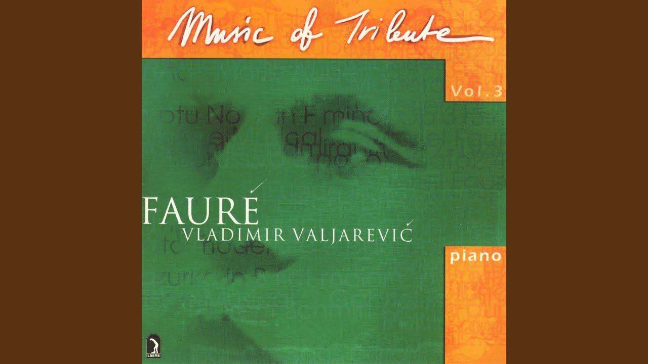 Poème Symphonique Sur Le Nom De Gabriel Fauré Arr For Piano