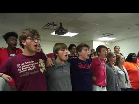 SSHS Choir performing SSHS Alma Mater - Smiths Station High School