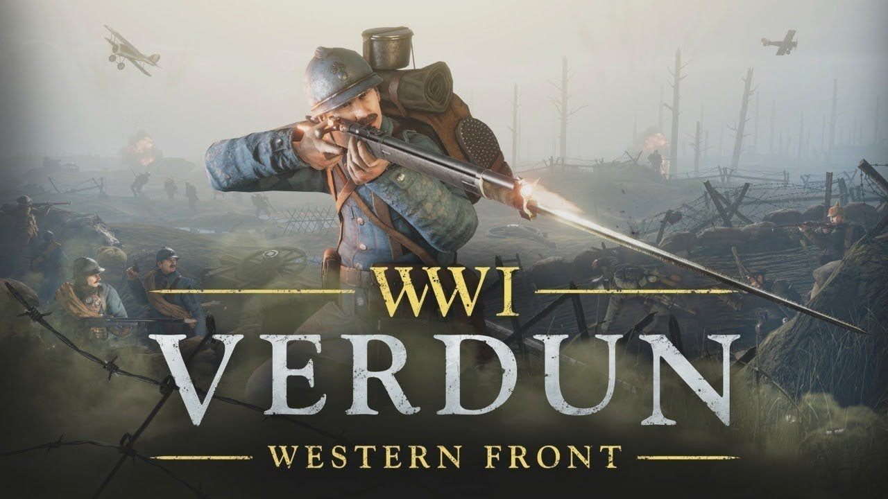 VERDUN - WWI WESTERN FRONT -  MOST BRUTAL TRENCH WARFARE GAMEPLAY