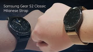 Milanese Watch Band - Samsung Gear S2 Classic