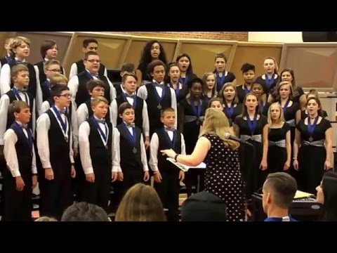Hopewell Junior School Vocal Chamber Ensemble 2016 Spring Concert