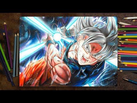 Drawing Goku Ultra Instinct / Desenhando Goku Instinto Superior