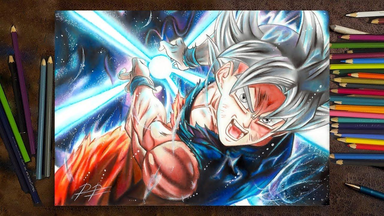 Drawing Goku Ultra Instinct Desenhando Goku Instinto