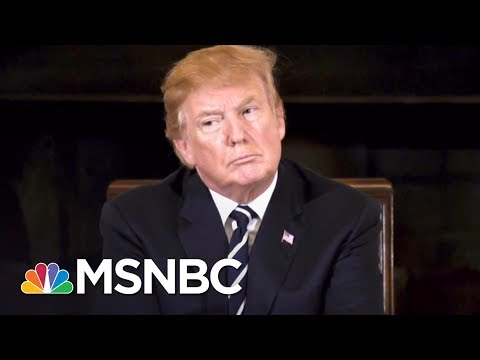 Camera Captures Donald Trump's Notes During Gun Control Meeting | The 11th Hour | MSNBC