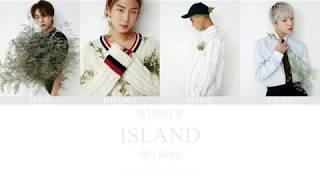 Cover images WINNER(위너) - ISLAND (Japanese ver.) Color coded lyrics [ JP | Rom ]