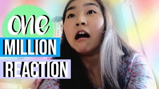 ONE MILLION SUBSCRIBERS REACTION | JensLife