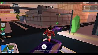 ROBLOX Jailbreak GRINDIN /G FOR LVL 5 ENGINE w / AwesomeGuy670 and MAXBLOXplayroblox