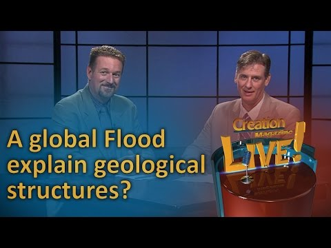 Can certain geological structures be explained by a global Flood? (Creation Magazine LIVE! 6-20)