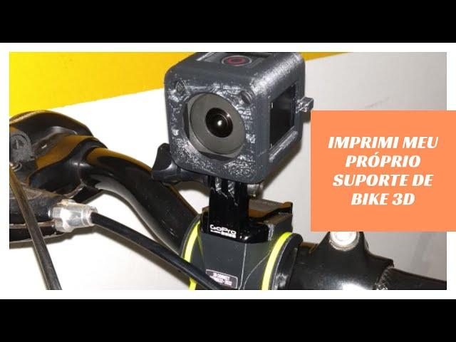 Testando o suporte 3D pra GoPro - Canal Du Curioso