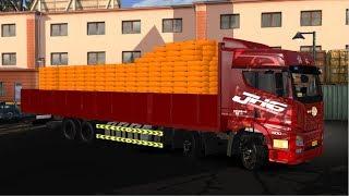 FAW JH6 Truck review - ETS2 truck mod