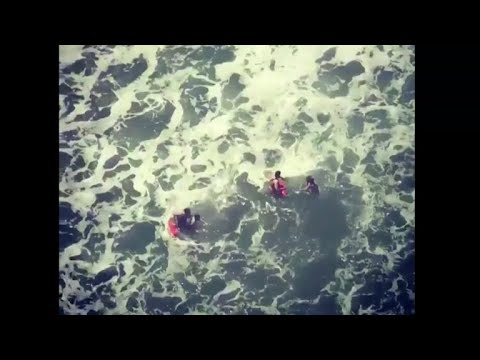 Two kids caught in rip current in California saved by lifeguards