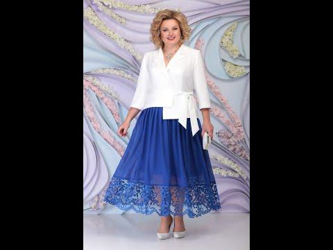 Комплект с шифоновой юбкой NINELE 5794. Set with a chiffon skirt NINELE 5794.