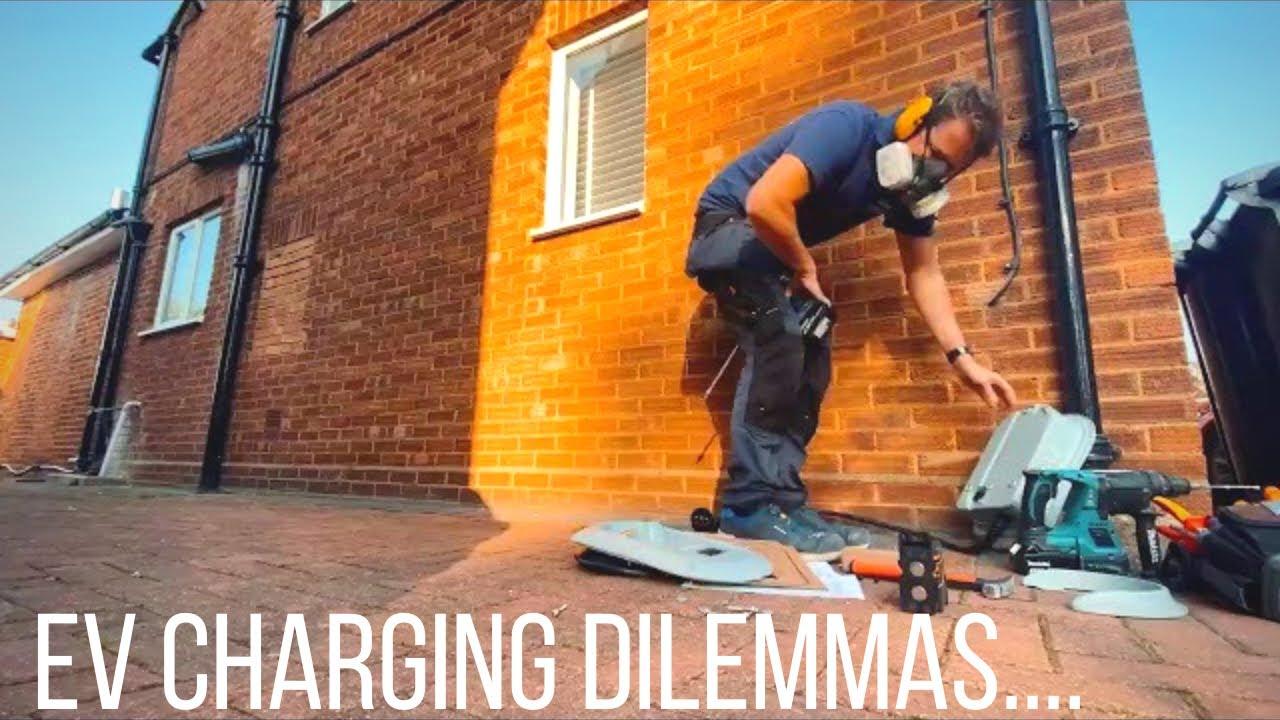 EV Charging Installation Dilemmas... Electrician Life