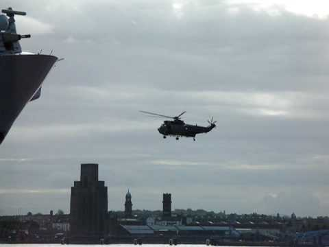 Navy Westland Sea King Helicopter