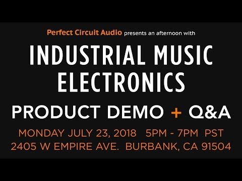 Industrial Music Electronics Product Demo And Q&A