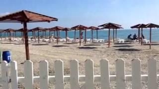 Небуг. Изменения на пляже. 1 мая 2016(В Небуге расширили территорию пляжа. Гостевой дом