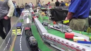 ACSG Washington and Old Dominion Layout and Trains - Jan 2016